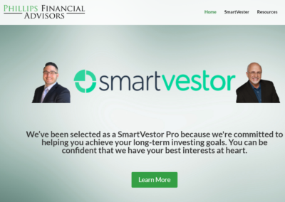 Phillips Financial Advisors – Website