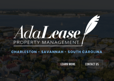 Adalease Property Management – Website
