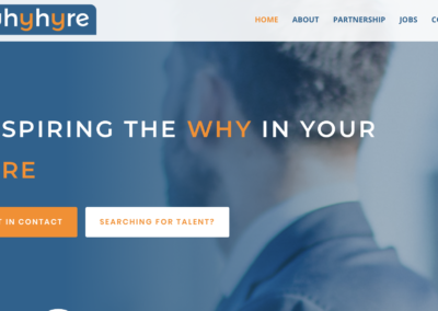 WhyHyre – Website